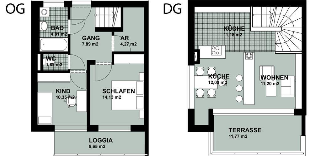 mietwohnung radlerweg top 5 wohnung mieten 4101 feldkirchen an der donau fahrner gmbh. Black Bedroom Furniture Sets. Home Design Ideas