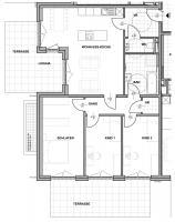 Wohnung mieten » Top A01 - Wohnung mit Terrasse und Garten » Anton-Bruckner-Hof Ansfelden