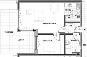 Wohnung mieten » Top A03 - Wohnung mit Terrasse und Garten » Anton-Bruckner-Hof Ansfelden