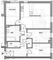 Wohnung mieten » 4052 Ansfelden » Top B08 - Dachgeschosswohnung :: Fahrner GmbH Immobilien
