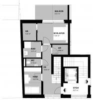 Wohnung mieten » 4020 Linz » TOP 04 - 122,76 m² Penthousewohnung :: Fahrner GmbH Immobilien